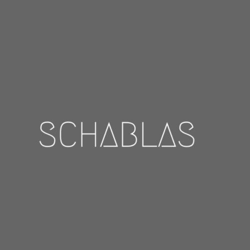 SCHABLAS BLUE - Turnbeutel