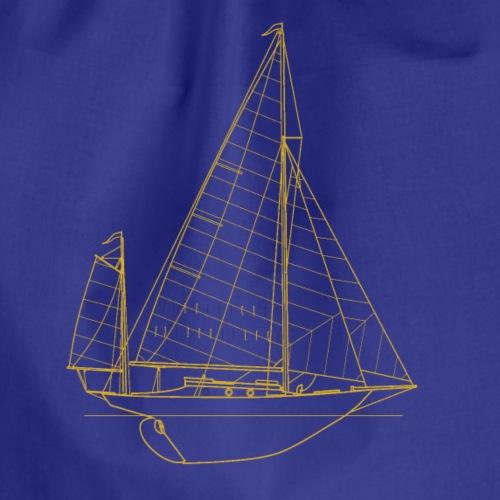 Sailboat - Turnbeutel