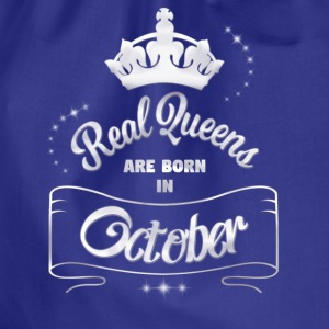 Queens October - Drawstring Bag