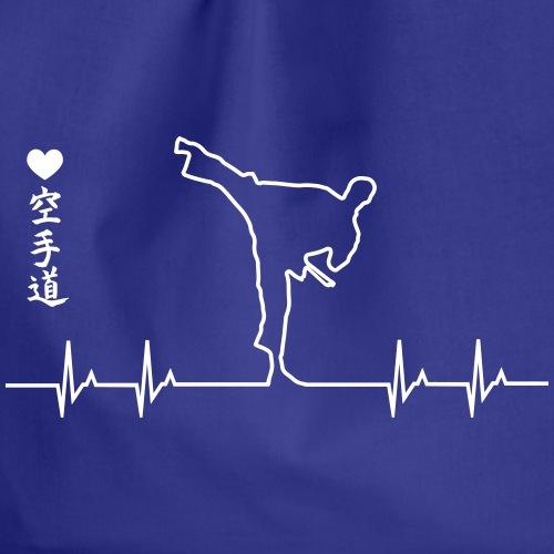 karate heartbeat - Mochila saco