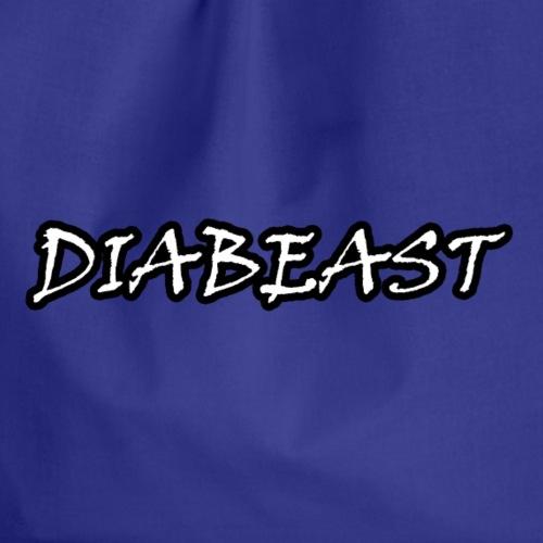 Spreadshirt Diabeast Schwarz/Weiß - Turnbeutel