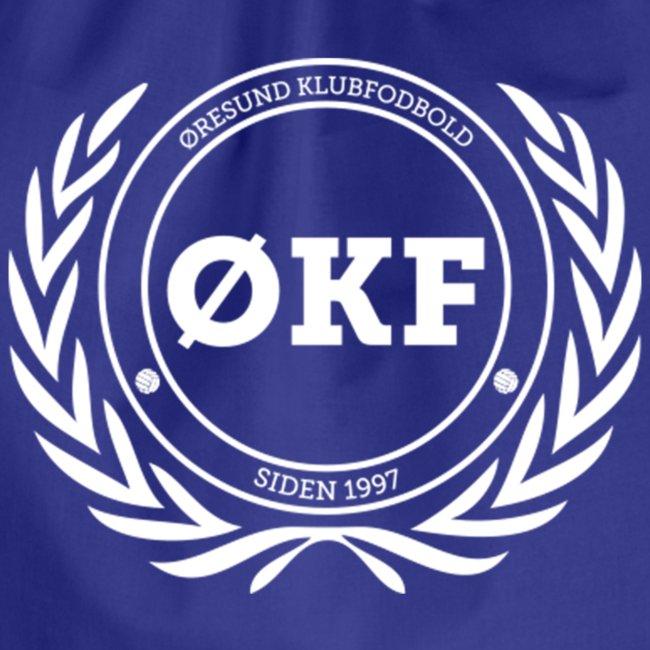 ØKF hvid logo
