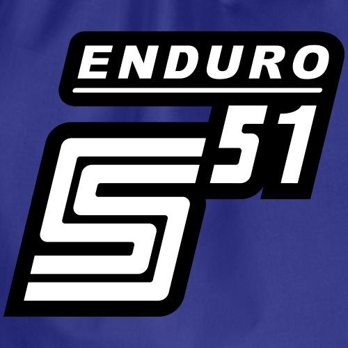 S51 Enduro Logo - Turnbeutel