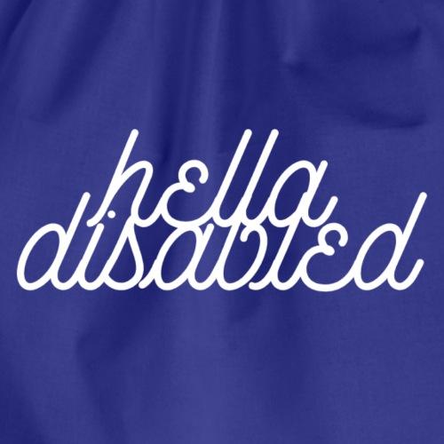 Hella Disabled - Drawstring Bag