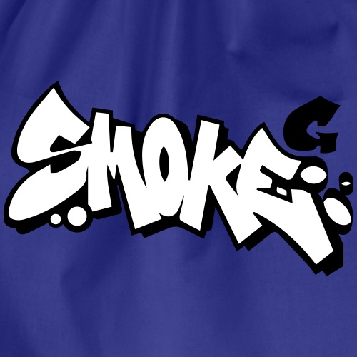 smoke Graffiti - Turnbeutel