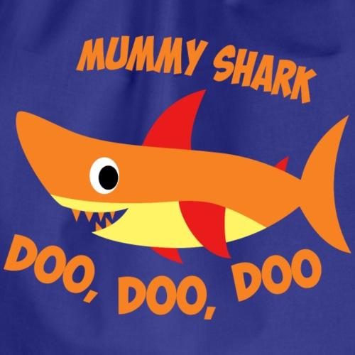 Mummy Shark - Drawstring Bag