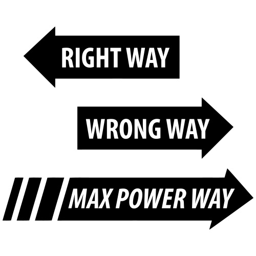 Max Power - Gymnastikpåse