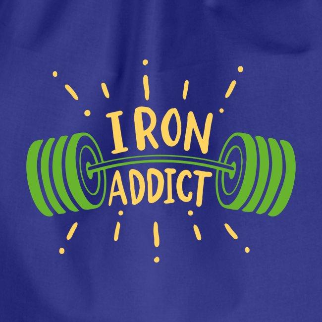 Langhantel Iron Addict Gym Shirt