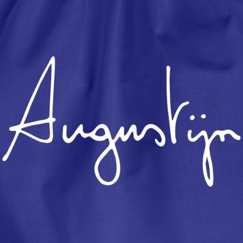 augustijn vermandere logo wit - Gymtas
