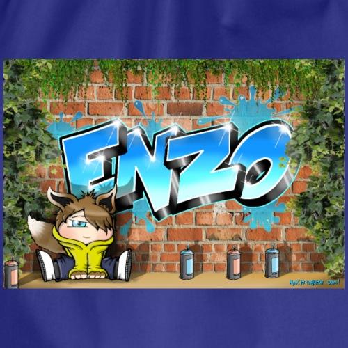 Enzo Graffiti Name - Sac de sport léger