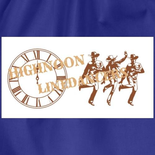 Logo Highnoon Linedancers CH - Turnbeutel