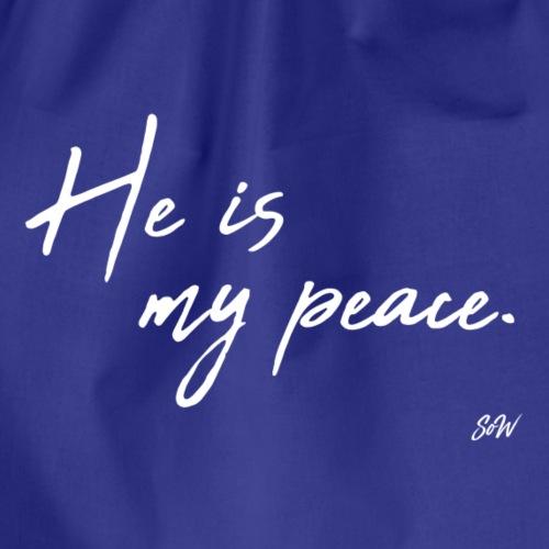 He is my peace. - Sac de sport léger