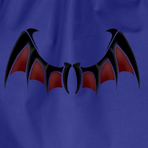 Demon wings - Drawstring Bag