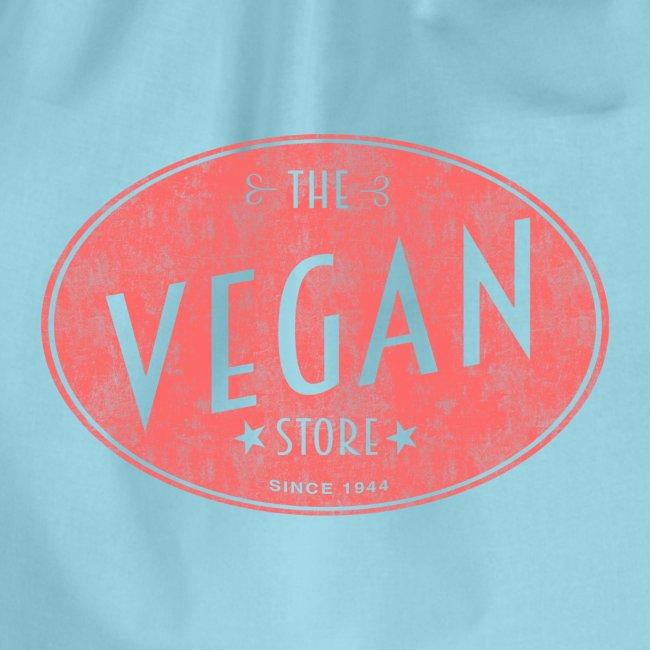 The Vegan Store - Vintage Store Logo design