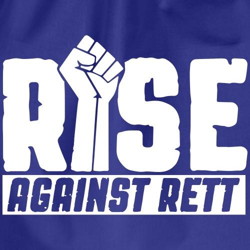 Rise against Rett - Drawstring Bag
