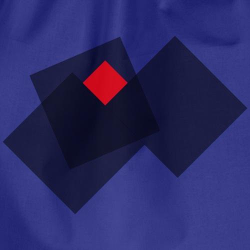 grid - Drawstring Bag