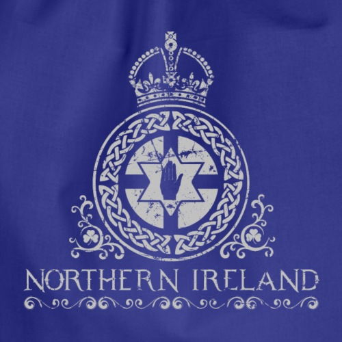 Northern Ireland arms - Drawstring Bag