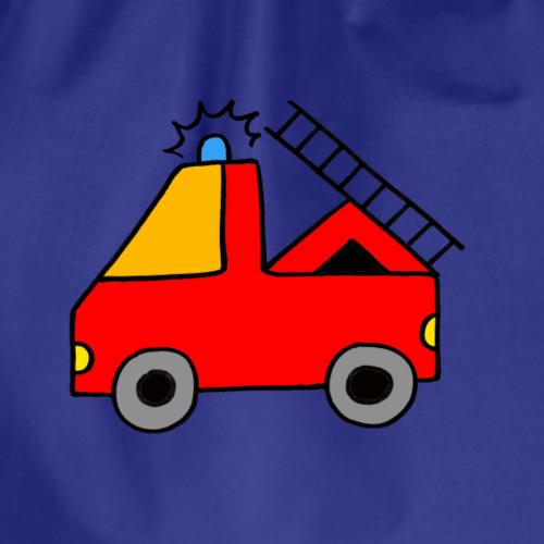 Tatü Tata hier kommt die Feuerwehr - Turnbeutel