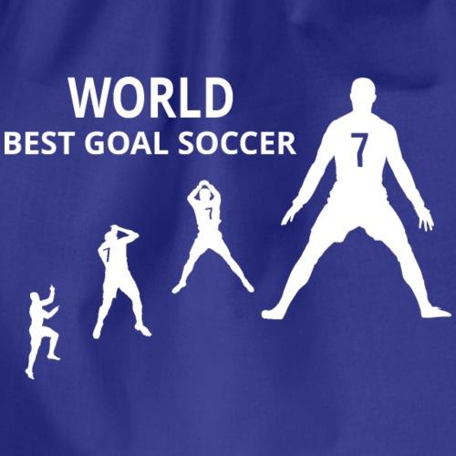 Wereld best doelpuntenmaker - Gymtas