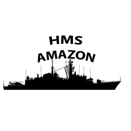 HMS Amazon - Drawstring Bag