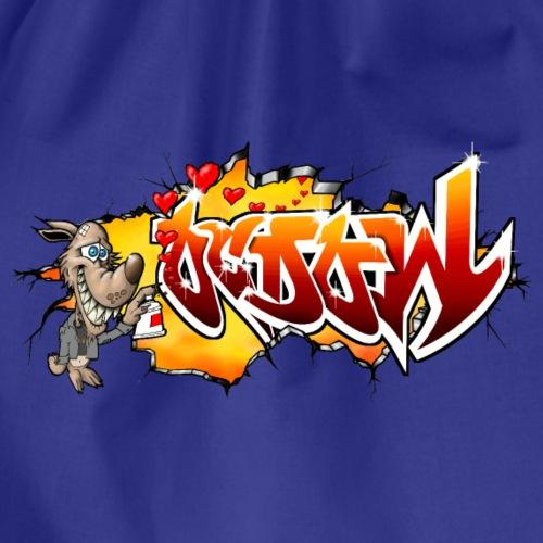 Wolf OCDOW Graffiti - Sac de sport léger