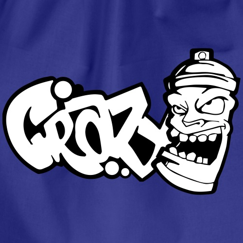 crazy graffiti Spraydose - Turnbeutel