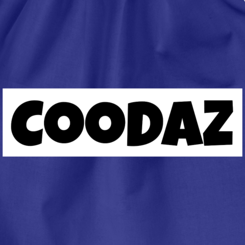 COODAZ Logo Street Kleidung - Turnbeutel