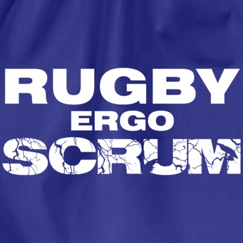 Marplo Rugbyergoscrum wht - Sacca sportiva