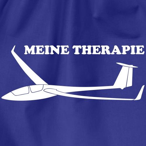 therapie Segelflieger Segelflugzeug Tshirt Geschen - Turnbeutel