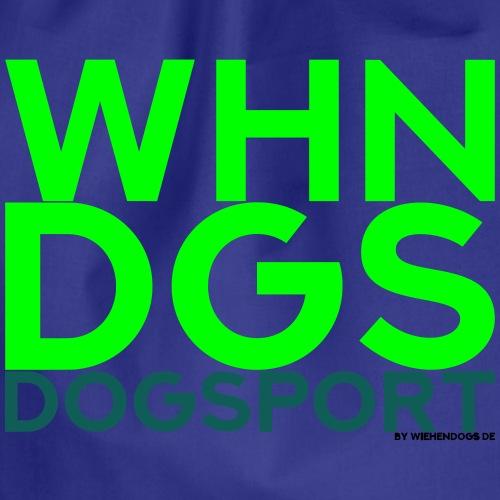 WHNDGS Hundesport Agility Geschenkidee Markenshirt - Turnbeutel