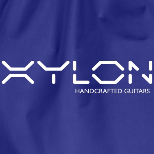 Xylon Handcrafted Guitars (name only logo white) - Drawstring Bag