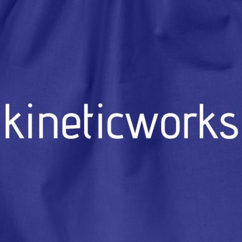 kineticworks white - Turnbeutel