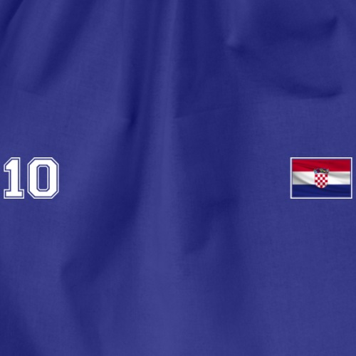 From Croatia with Love - Croatian Flag CRO10 white