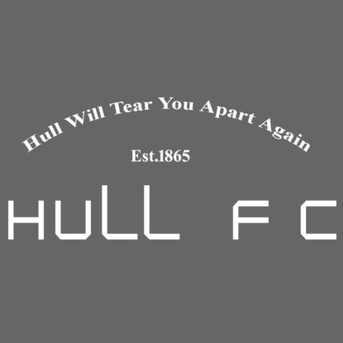 Hull FC Joy [White] - Drawstring Bag