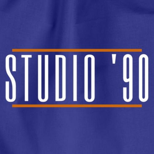 Logo wit Studio 90 - Gymtas