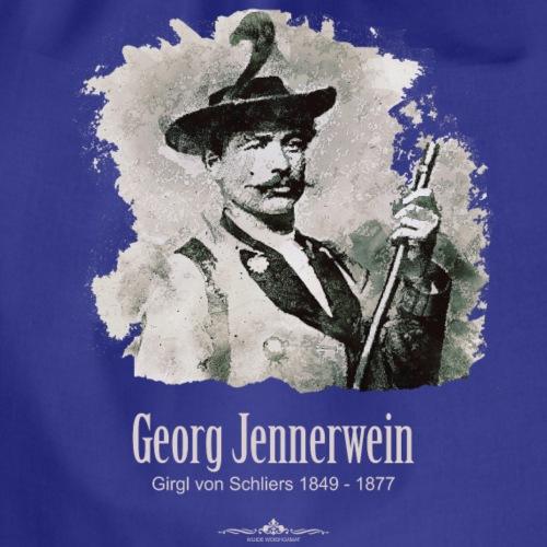 Georg Jennerwein - der Wildschütz - Turnbeutel