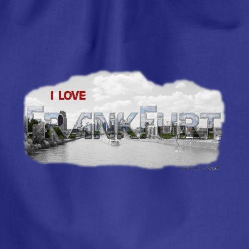 Frankfurt DH LOVE Stadt - Turnbeutel