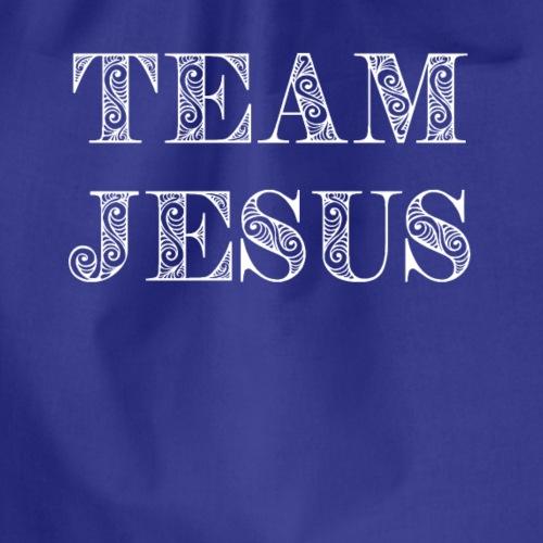 team jesus - Drawstring Bag