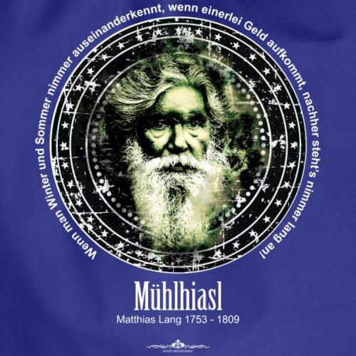 Mühlhiasl, Matthias Lang - Turnbeutel