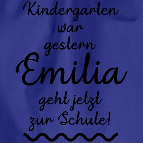Kindergarten war gestern (Emilia) - Turnbeutel