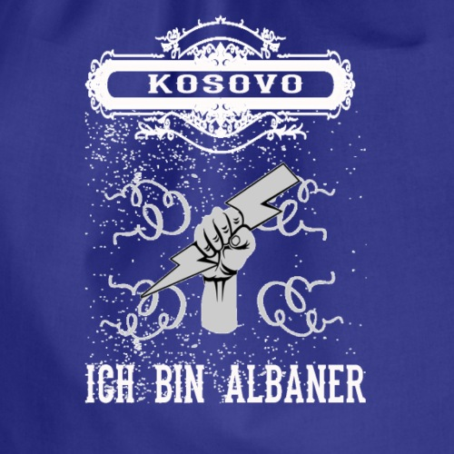 T shirt kosovo - Turnbeutel