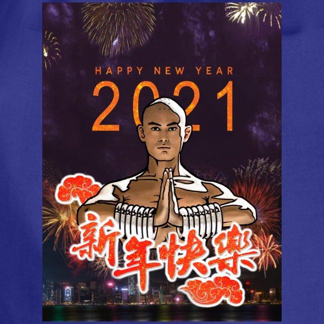 Gordon Liu som SanTe - Warrior Monk - Happy NewYear