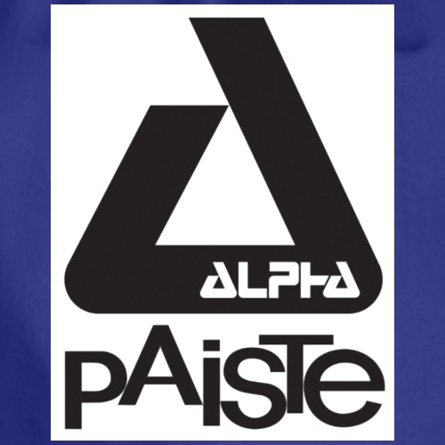 alpha06 logo - Turnbeutel