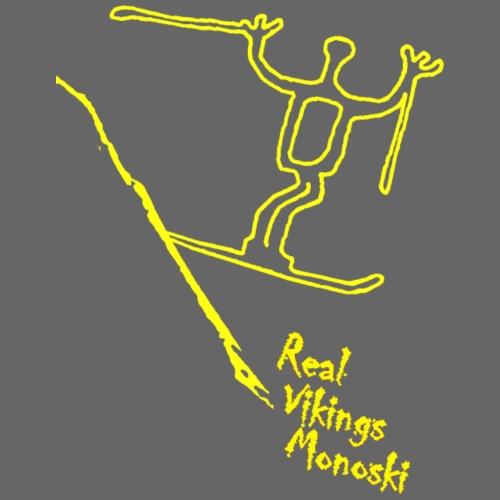 RVM RealVikingsMonoski yellow - Gymnastikpåse
