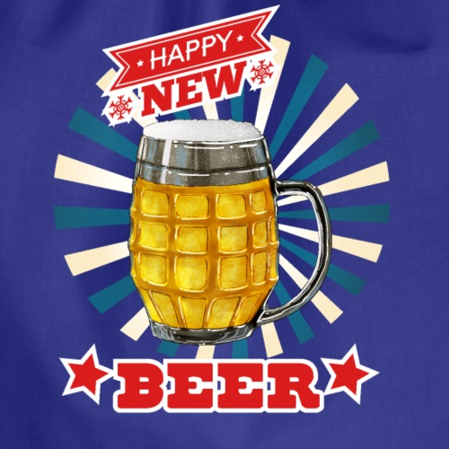 Happy new beer - Turnbeutel