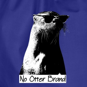 No Otter Brand Original - Drawstring Bag
