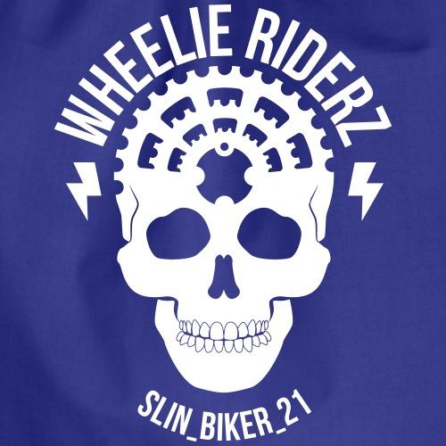 SLINBIKER 21 WHITE - Turnbeutel