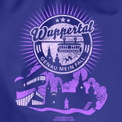 Wuppertal T Shirt Design Spruch Genau mein Fall - Turnbeutel