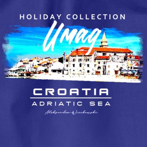Umag Croatia, T- Shirt, sehr gute Qualität, - Turnbeutel
