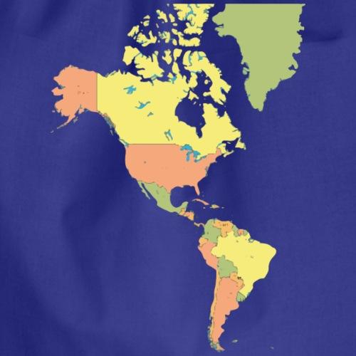 Mappe Americhe - Sacca sportiva